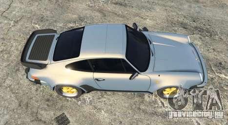 Porsche 911 Turbo 3.3 (930) 1982 [add-on] для GTA 5 вид сзади