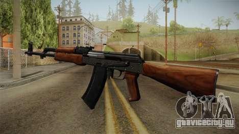 AKM Assault Rifle v2 для GTA San Andreas третий скриншот