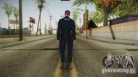 Turkish Police Officer Long Sleeves для GTA San Andreas третий скриншот