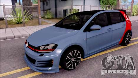 Volkswagen Golf 7 GTI Turkish Airlines для GTA San Andreas