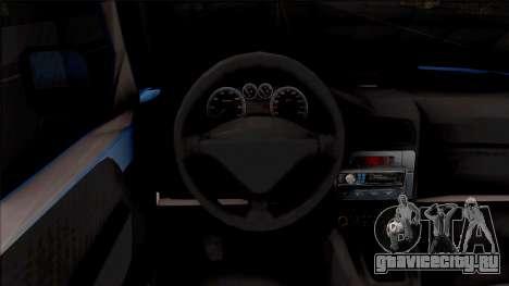 Citroen Berlingo Mk2 Van для GTA San Andreas вид изнутри