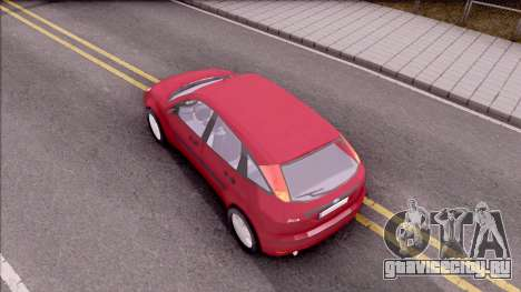 Ford Focus Hatchback для GTA San Andreas