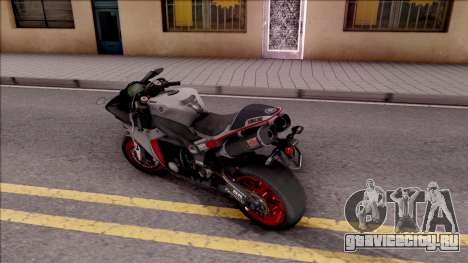 Yamaha YZF-R1 Stickers для GTA San Andreas вид слева
