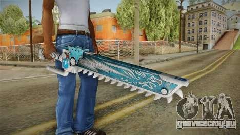 W40K: Deathwatch Chain Sword v5 для GTA San Andreas третий скриншот
