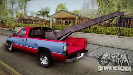 Dodge Ram 2500 Towtruck для GTA San Andreas вид слева