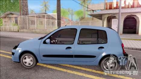 Renault Clio v2 для GTA San Andreas вид слева