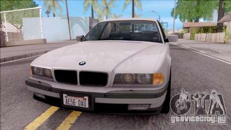 BMW 750i E38 1996 для GTA San Andreas