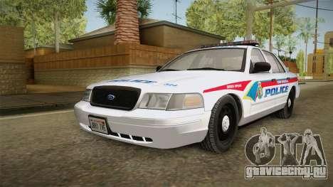 Ford Crown Victoria PI YRP для GTA San Andreas