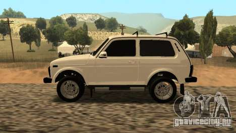 Lada Niva Urban Armenian для GTA San Andreas вид слева