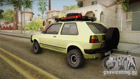 Volkswagen Golf Mk2 Country для GTA San Andreas вид слева