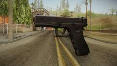 Glock 18 3 Dot Sight Ultraviolet Indigo для GTA San Andreas