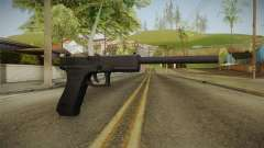 Glock 18 3 Dot Sight with Long Barrel для GTA San Andreas