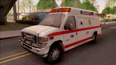 Ford E-350 SFFD San Francisco Ambulance для GTA San Andreas