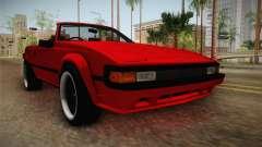 Toyota Celica Supra Cabrio 1984 для GTA San Andreas