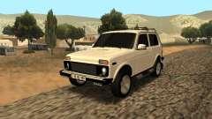 Lada Niva Urban Armenian для GTA San Andreas