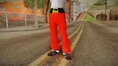 Красные штаны Санта Клауса