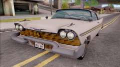 Plymouth Fury 1958 IVF для GTA San Andreas