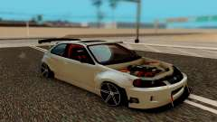 Honda Civic 98 Hatch Rocket Bunny для GTA San Andreas