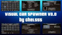 Visual Car Spawner v3.0 для GTA San Andreas