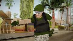 Gunrunning Female Skin v1 для GTA San Andreas