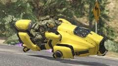 Sci-Fi Hover Bike 1.1b