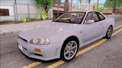 Nissan Skyline GT-R R34 Vspec Stock