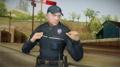 Turkish Police Officer Long Sleeves для GTA San Andreas