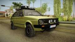 Volkswagen Golf Mk2 Country для GTA San Andreas