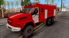 Урал NEXT Автоцистерна Пожарная для GTA San Andreas