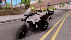 Honda CB500X Turkish Traffic Police Motorcycle для GTA San Andreas