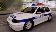 Volkswagen Golf 4 GTI Policija