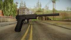 Glock 17 3 Dot Sight with Long Barrel для GTA San Andreas