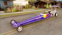 Dragster Red Bull