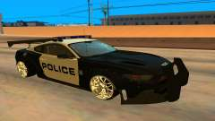 Ford Mustang GT 2015 Police Car