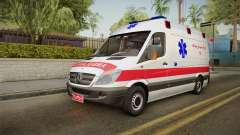 Mercedes-Benz Sprinter Iranian Ambulance для GTA San Andreas