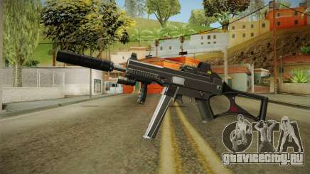 MP5 Grey Chrome для GTA San Andreas