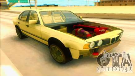 BMW M5 E34 жёлтый для GTA San Andreas