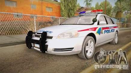 Chevrolet Impala 2006 YRP для GTA San Andreas