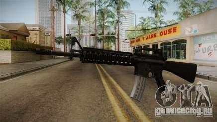 Battlefield 3 - M16 v2 для GTA San Andreas
