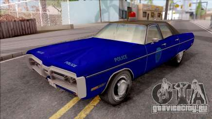 Plymouth Fury 1972 Housing Authority Police для GTA San Andreas