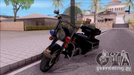Harley Davidson FLH 1200 Police 1988 для GTA San Andreas
