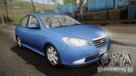 Hyundai Elantra 2008 для GTA San Andreas