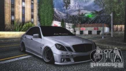 Mercedes-Benz E63 для GTA San Andreas