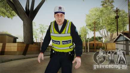 Turkish Traffice Police Officer-Long Sleeves для GTA San Andreas
