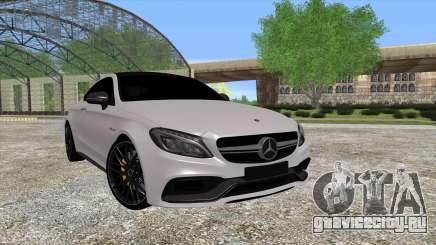 Mercedes-Benz C63 Coupe для GTA San Andreas