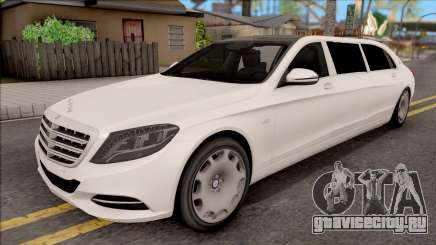 Mercedes-Maybach S600 Pullman для GTA San Andreas