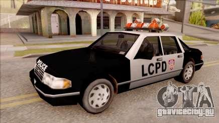 Police Car from GTA 3 для GTA San Andreas