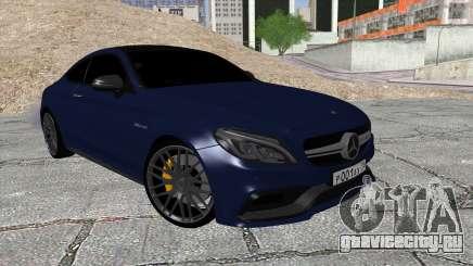 Mercedes-Benz C63 Coupe Rashid Edition для GTA San Andreas