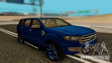 Ford Everest 2017 для GTA San Andreas