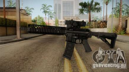 MK18 from MOH: Warfighter для GTA San Andreas